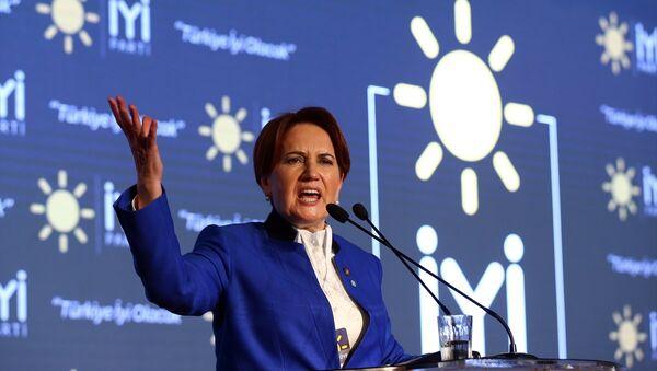 İyi Parti Genel Başkanı Meral Akşener - Sputnik Türkiye