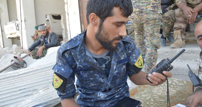 YPG savaşçıları