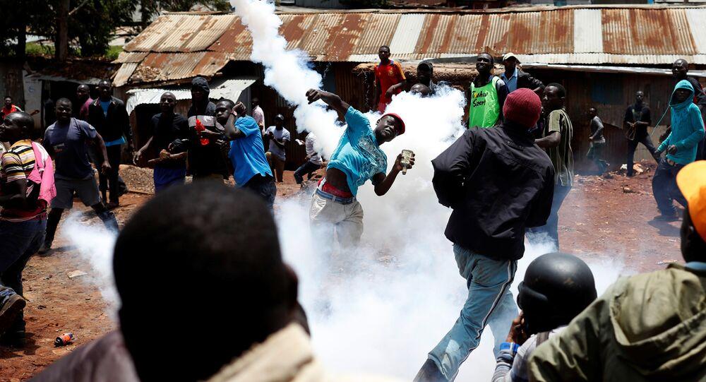 Kenya'da devlet başkanlığı seçimi