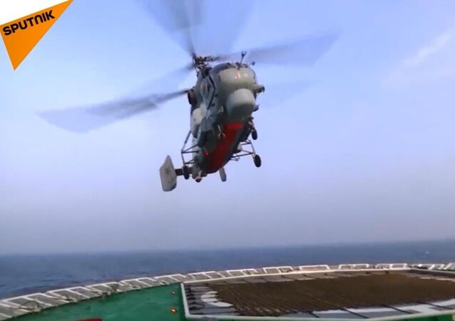 Ka-27 gemi helikopterleri Baltık Denizi'nde test edildi