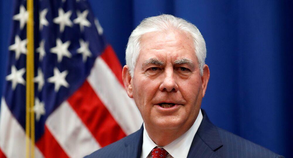 ABD DIşişleri Bakanı Rex Tillerson