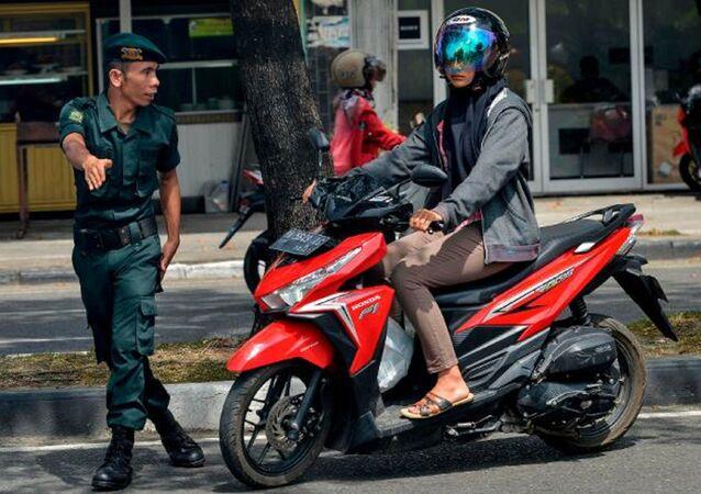 Endonezya - Şeriat - Polisi
