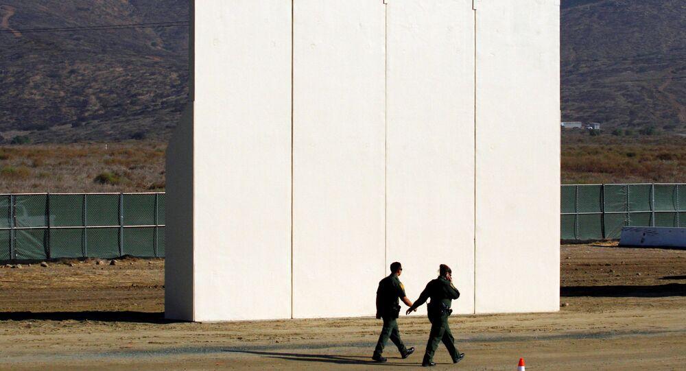 ABD- Meksika Duvarı prototipleri