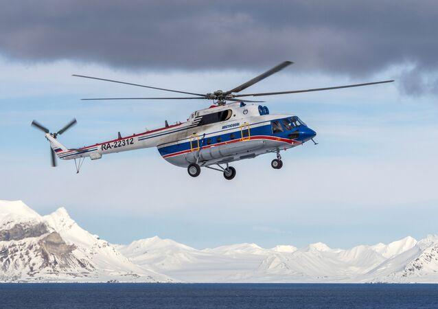 Rus Mi-8 helikopteri