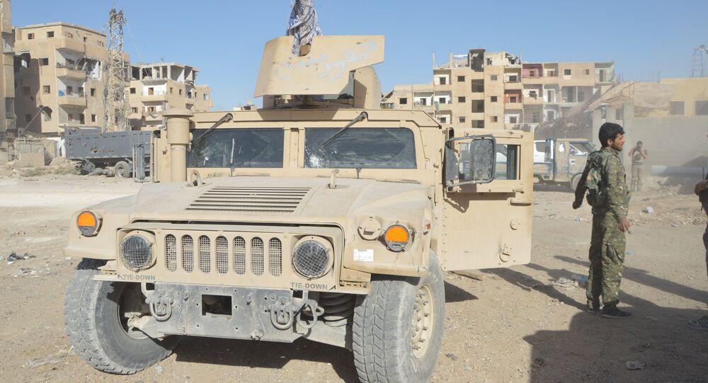 ABD, Deyr ez Zor operasyonu için DSG'ye 120 tır ağır silah ve zırhlı araçlar gönderdi