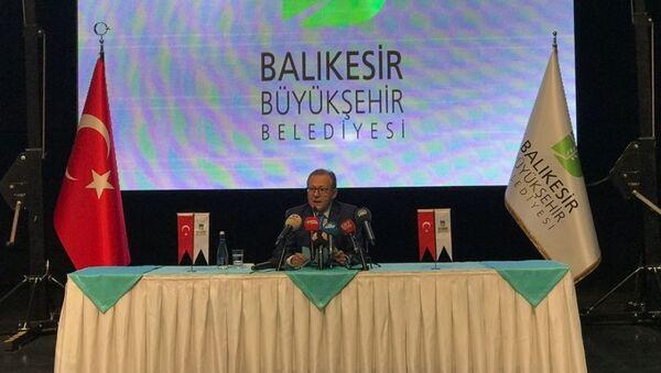 Balıkesir Belediye Başkanlığı'ndan istifa eden Ahmet Edip Uğur - Sputnik Türkiye