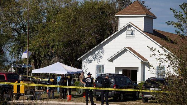 Teksas'ta kiliseye saldırı - Sputnik Türkiye