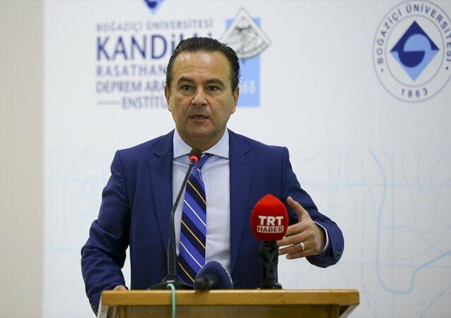 Boğaziçi Üniversitesi Kandilli Rasathanesi ve Deprem Araştırma Enstitüsü'nde (KRDAE)