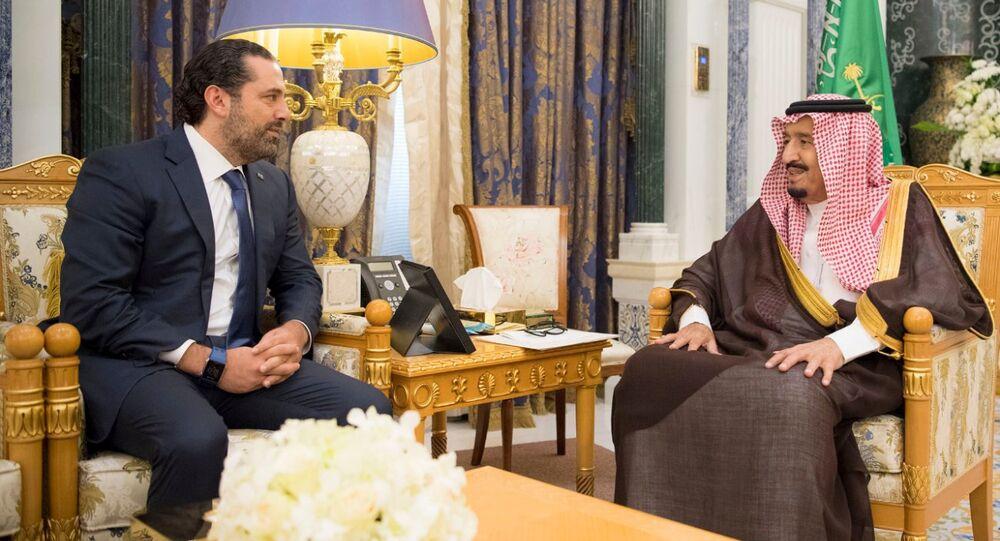 İstifa eden Lübnan Başbakanı Saad el Hariri- Suudi Kral Selman