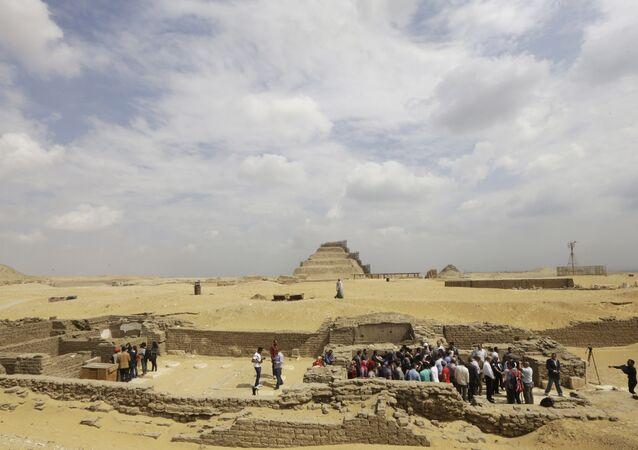 Mısır-kazı alanı