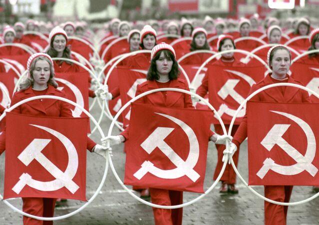 Ekim Devrimi fotoğraflarda