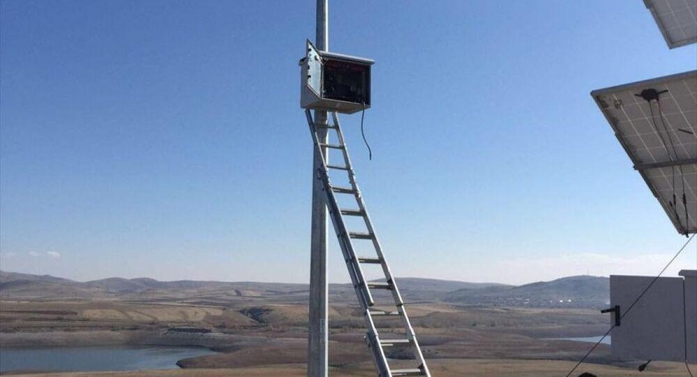 Türkiye-Ermenistan sınırına kamera sistemi kuruldu