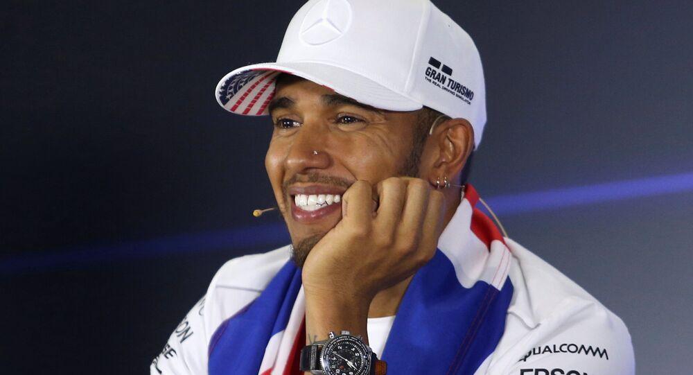 Formula 1 şampiyonu Lewis Hamilton