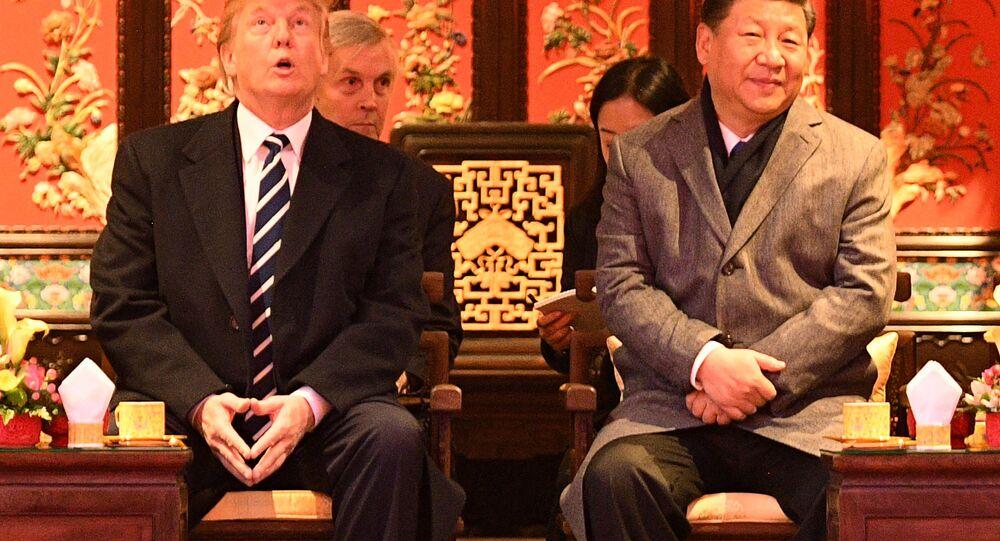 ABD Başkanı Donald Trump- Çin Devlet Başkanı Şi Cinping