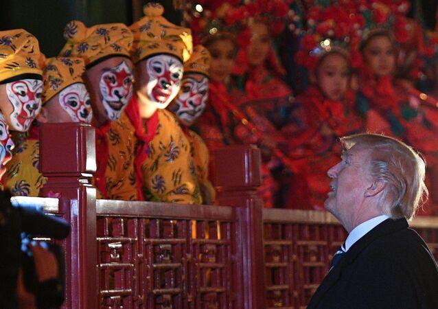 ABD Başkanı Donald Trump, Çin'de