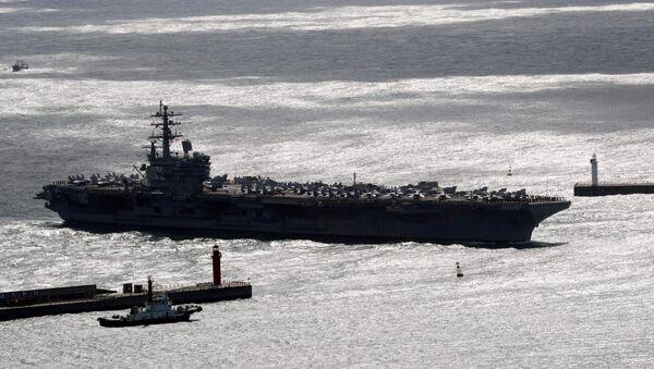 USS Ronald Reagan - Sputnik Türkiye