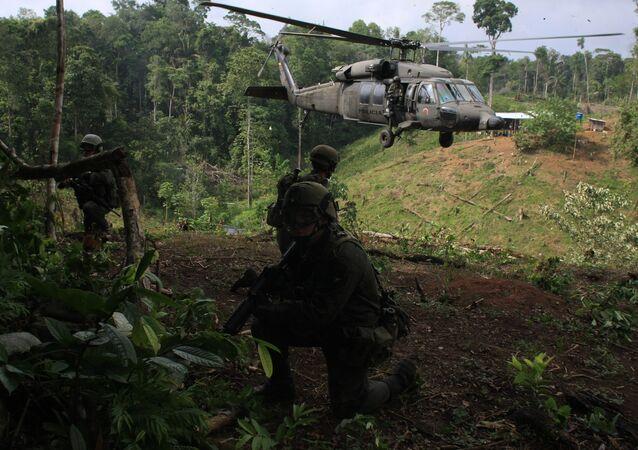 Kolombiya polis