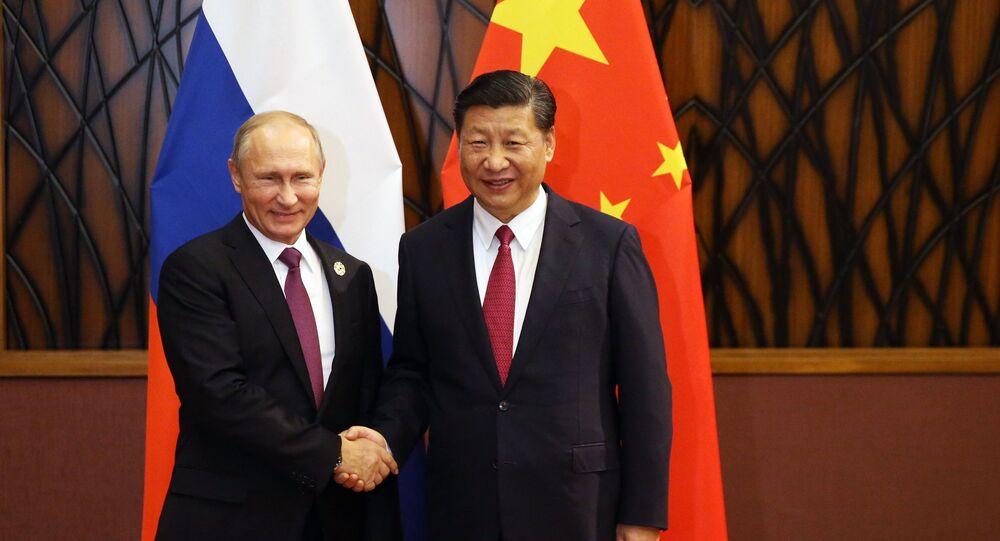 Rusya Devlet Başkanı Vladimir Putin- Çin Devlet Başkanı Şi Cinping