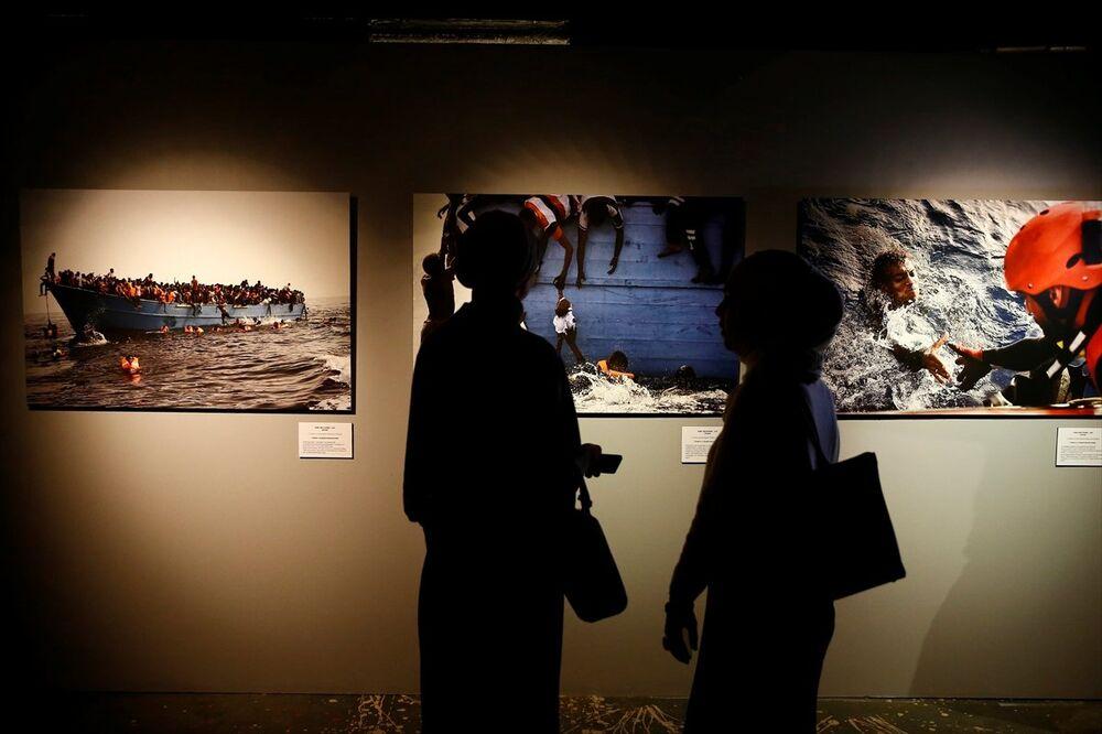 'AA Istanbul Photo Awards 2017' sergisi Moskova'da açıldı