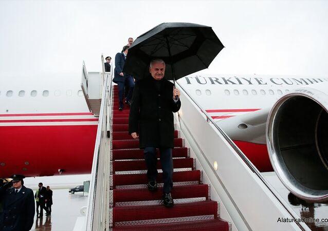 Başbakan Binali Yıldırım - özel uçak 'CAN'