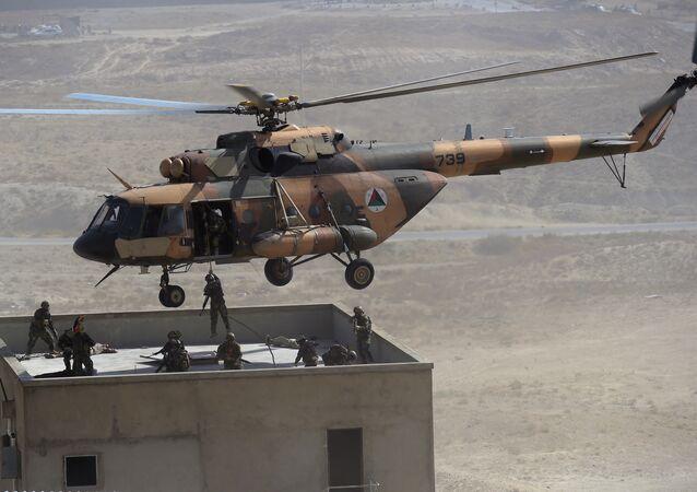 Mi-17 tipi helikopter -Afganistan