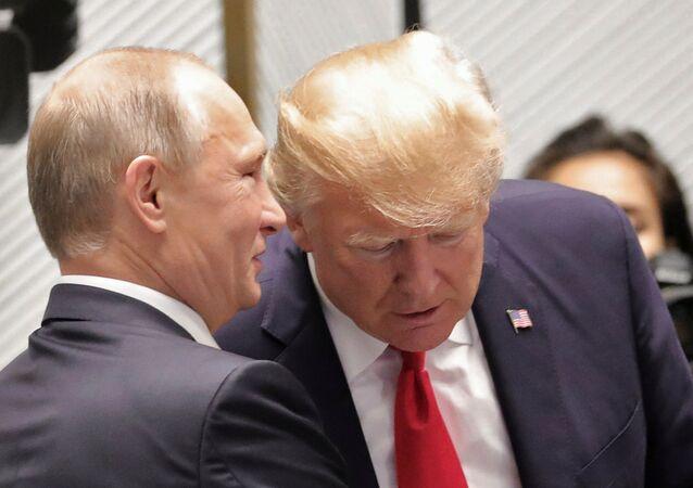 Rusya Devlet Başkanı Vladimir Putin-ABD Başkanı Donald Trump