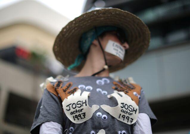 Hollywood - Protesto