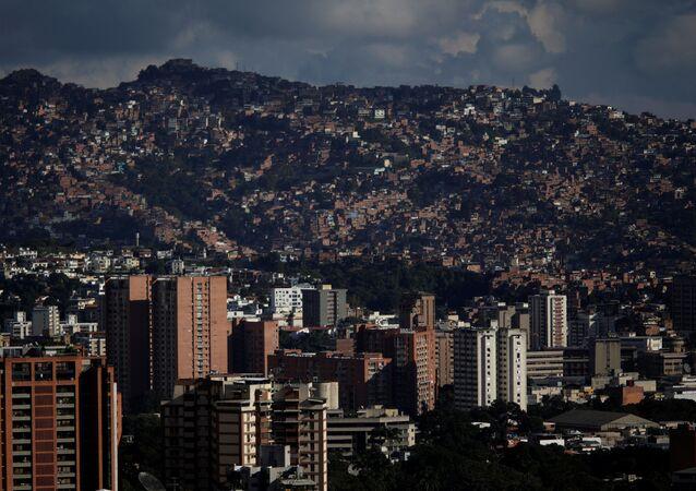 General view of Caracas, Venezuela