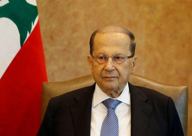 Lübnan Cumhurbaşkanı Mişel Aun