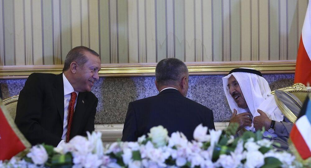 Cumhurbaşkanı Recep Tayyip Erdoğan, Kuveyt'te
