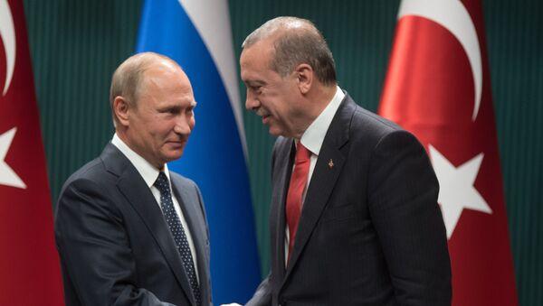Putin ve Erdoğan. - Sputnik Türkiye