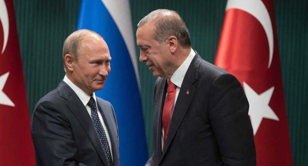 Putin ve Erdoğan.
