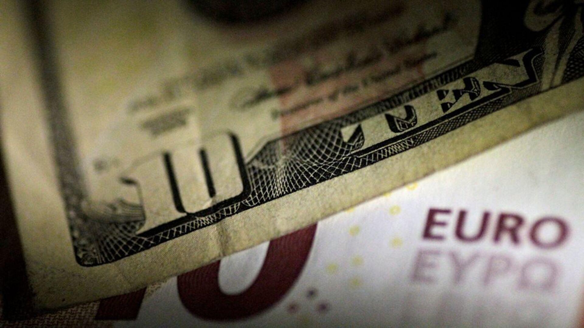 Euro - dolar - Sputnik Türkiye, 1920, 02.08.2021