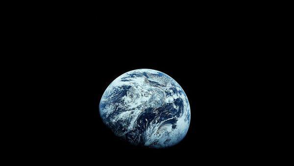 Earth as seen from the Apollo 8 spacecraft - Sputnik Türkiye