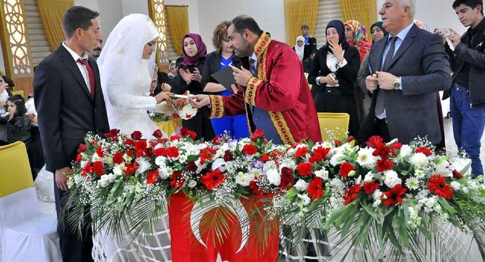 İlk müftü nikahı