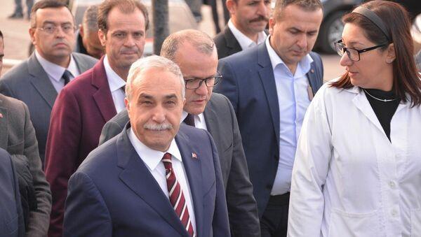 Gıda Tarım ve Hayvancılık Bakanı Ahmet Eşref Fakıbaba - Sputnik Türkiye