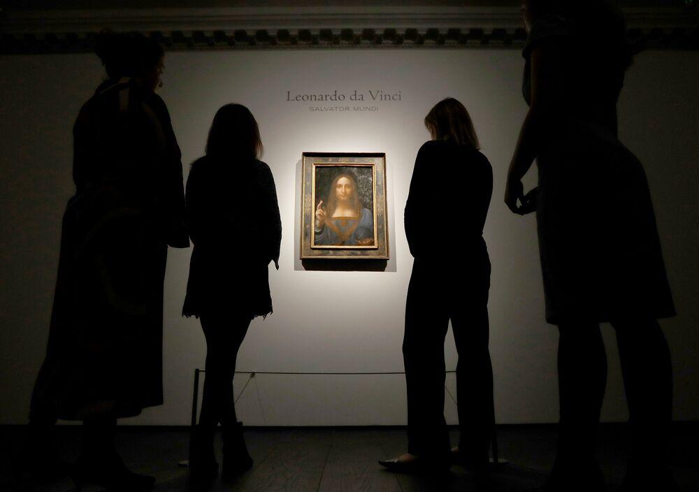 Daha önce sahte diye 60 dolara satılan Da Vinci tablosu, rekor kırdı