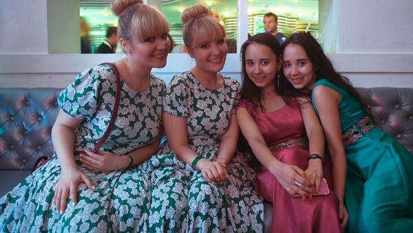 Moskova'da ikizler festivali - Sputnik Türkiye