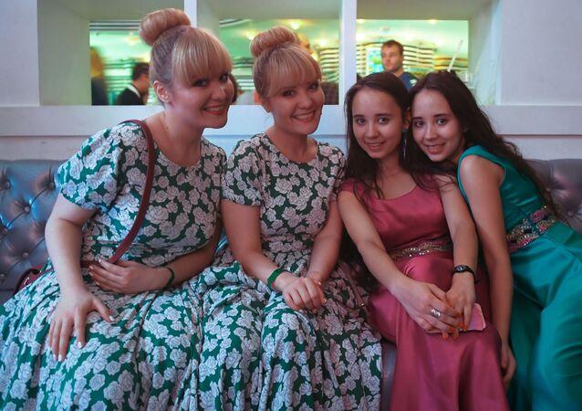 Moskova'da ikizler festivali