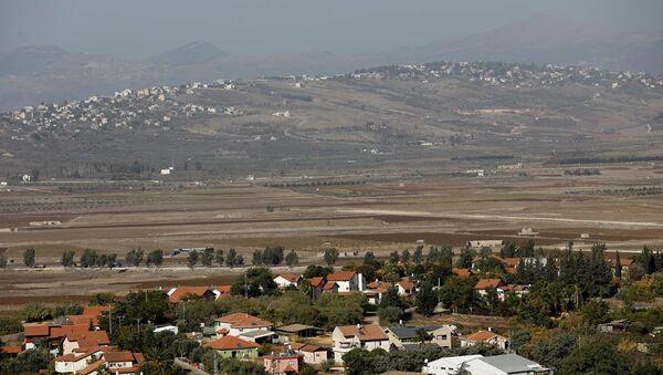 Lübnan - İsrail sınırı - Sputnik Türkiye