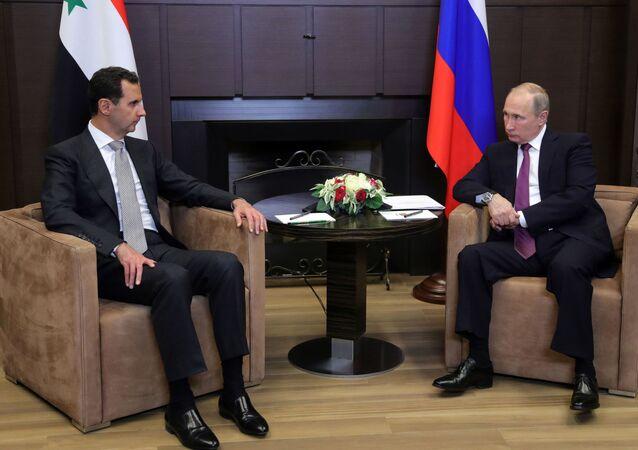 Putin-Esad görüşmesi