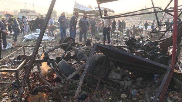 Tuzhurmatu'da intihar saldırısı: En az 20 ölü, 40 yaralı - Sputnik Türkiye