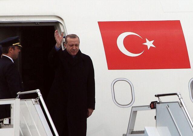 Cumhurbaşkanı Recep Tayyip Erdoğan - Uçak