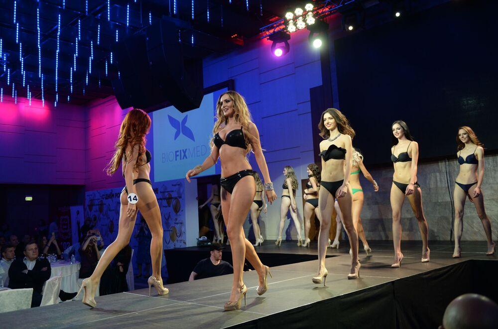 Moskova'da Rusya Top Model 2017 yarışması