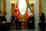 Cumhurbaşkanı Recep Tayyip Erdoğan ve İran Cumhurbaşkanı Hasan Ruhani