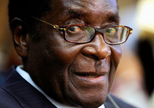 Eski Zimbabve Devlet Başkanı Robert Mugabe
