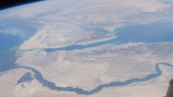 Nile River Delta, Sinai Peninsula (NASA, International Space Station, 07/10/11) - Sputnik Türkiye