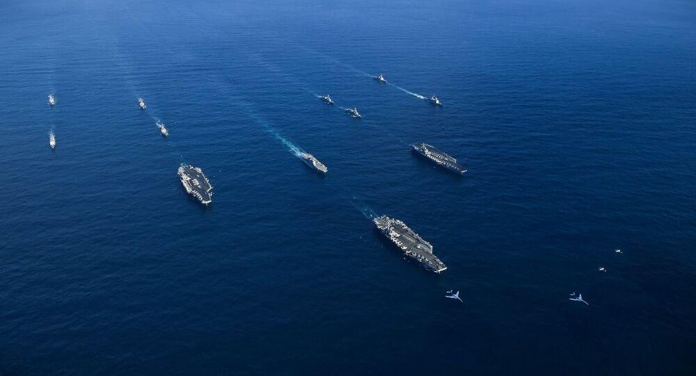 ABD donanmasına ait uçak gemileri