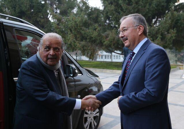 Katarlı iş adamı Şeyh Faysal bin Kasım Al Sani ve Edirne Valisi Günay Özdemir