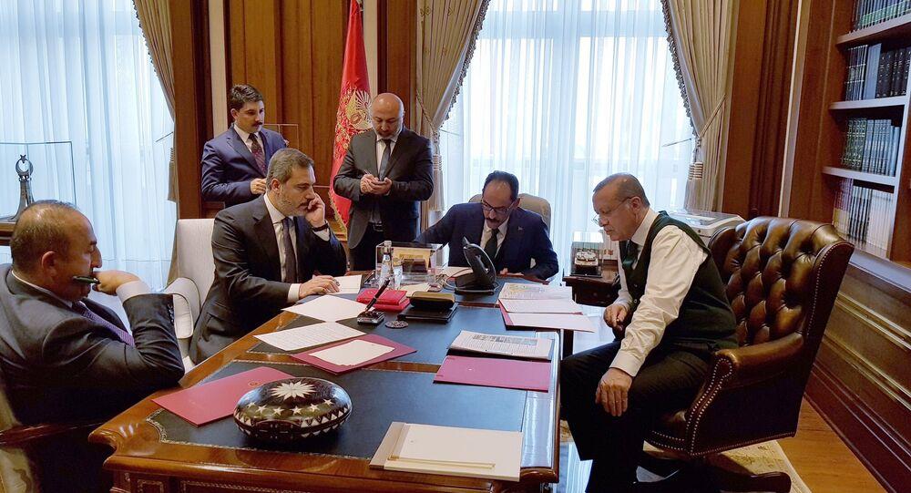Erdoğan ve Trump telefonla görüştü